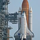 STS-135 Sitting on the Pad by Per Hansen