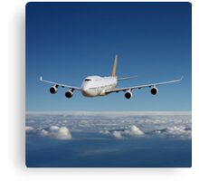 Airliner Canvas Print