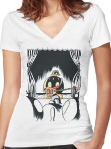 Irresponsible Performer Women's Fitted V-Neck T-Shirt