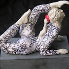 Contortion girl-circus sculpture by maria paterson