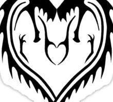 Corazon de Dragon Sticker