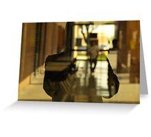 Chromatic Self-Reflection Greeting Card