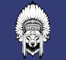 Indian Wolf Headdress Unisex T-Shirt