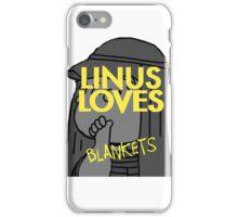 Linus Loves Blankets iPhone Case/Skin