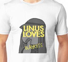 Linus Loves Blankets Unisex T-Shirt
