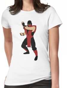Ermac  Womens Fitted T-Shirt