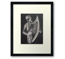 the harp Framed Print