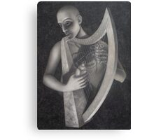 the harp Canvas Print
