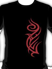 Rosa Tribal Rojo T-Shirt