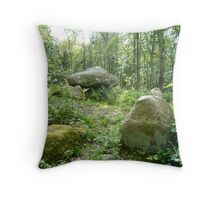 Ancient Stones in Holy Spot Throw Pillow