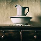Pitcher and basin by Jan Pudney