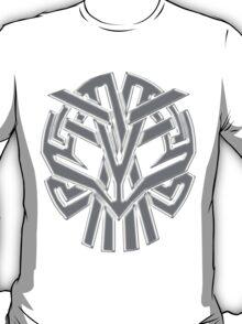 Tribal Skull Gris T-Shirt