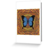 Solitude in Blue Greeting Card