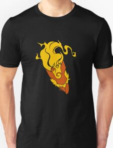 Vector Flareon Pokemon Fire Design T-Shirt