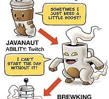 Pokémon Coffee Addict by HTTP