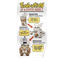 Pokémon Coffee Addict Poster