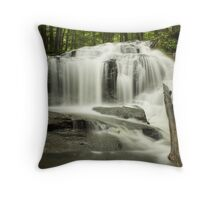 Tucker Brook Falls Throw Pillow