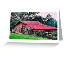 Countryside Barn Greeting Card