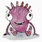 pink monster by Adam Carruthers