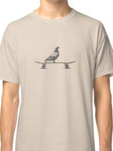 pigeon on deck Classic T-Shirt