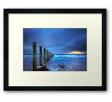 Moana Beach HDR Framed Print