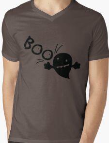 BOO cute ghost Mens V-Neck T-Shirt