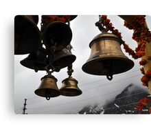 Bells of faith  Canvas Print