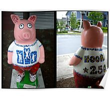 Ray School Pig Poster