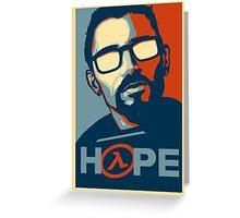 Half Life Hope Greeting Card