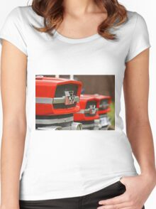 Vintage Tractors Women's Fitted Scoop T-Shirt