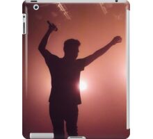 Silhouetted Singing iPad Case/Skin