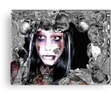 Undead Necromancer Canvas Print