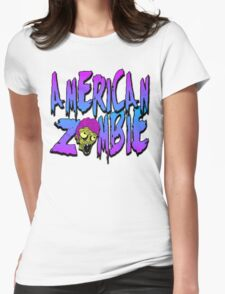 American Zombie Wild Womens Fitted T-Shirt