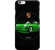 Classic Porsche 911 RS Carrera  iPhone Case/Skin