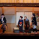 Popular drama at Small Theater ,OSAKA  JAPAN by yoshiaki nagashima