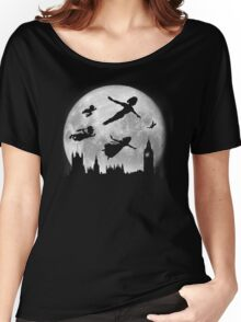 Full Moon over London Women's Relaxed Fit T-Shirt