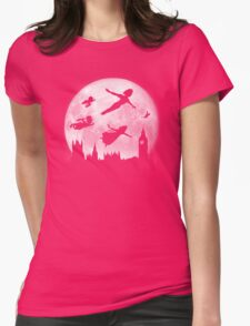 Full Moon over London Womens Fitted T-Shirt