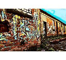 Old Brick Works - Pumpherston #2 Photographic Print