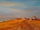 Hythe Kent, The fishermen&#x27;s beach by Beatrice Cloake