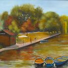 Hythe Kent - Our canal by Beatrice Cloake