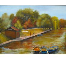 Hythe Kent - Our canal Photographic Print