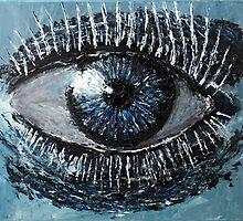Blue Eye by Chris Richards