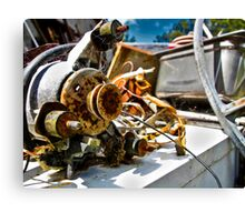 Trash, Treasure or Part Time Machine Canvas Print
