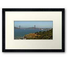 Land's End Golden Gate Framed Print