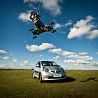 Car Jumping by Adam  Barstow