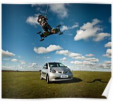 Car Jumping Poster