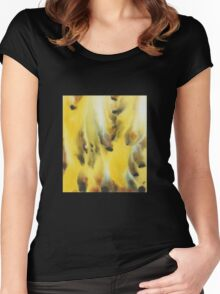 Feather Touch Women's Fitted Scoop T-Shirt