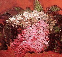 Lilacs by Vincent Van Gogh by Chunga