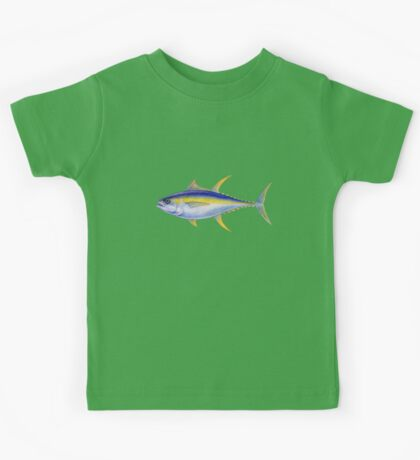 Yellowfin Tuna (Thunnus albacares) Kids Tee