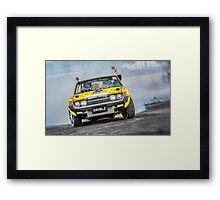 DRIBLZ Tread Cemetery Burnout Framed Print